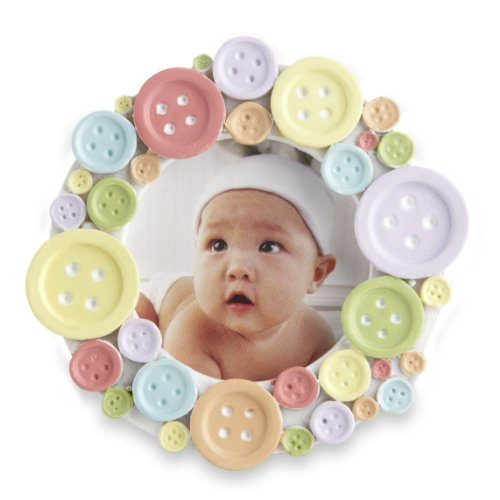 cute as a button picture frame - 1