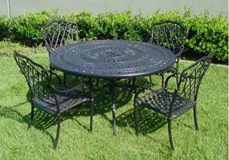 Wonderful 5 Piece Bellagio Outdoor Dining Set
