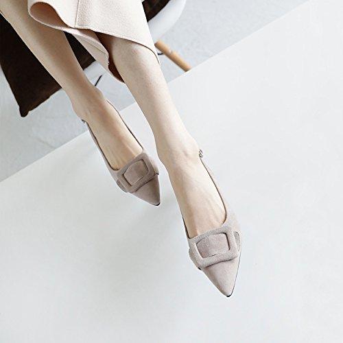 ad scarpe Da Bene suggerimenti Moda che Alla Sandali AJUNR 5cm con grigio 39 calzature alta e tacco partito Donna aw6nqF