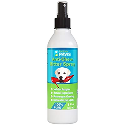 Anti-Chew Bitter Spray for Dogs - Tea Tree Oil to help soothe - 8oz by Particular Paws
