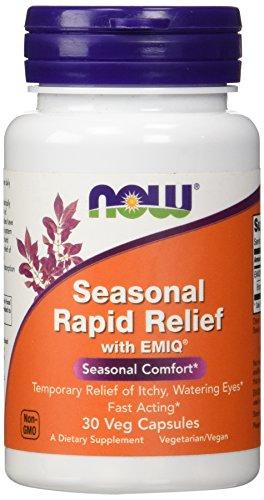NOW Seasonal Rapid Relief,30 Veg Capsules