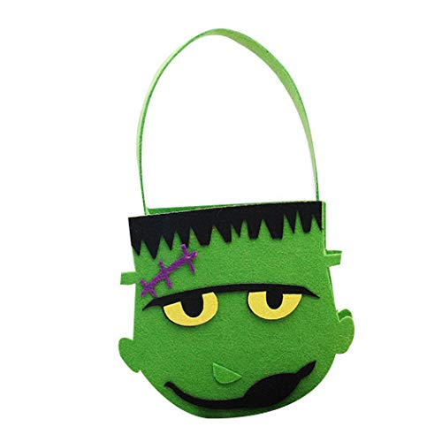 Cute Halloween Cartoons (Gatied Cute Cartoon Shape Handheld Halloween Candy Bag Party Prop Gift)