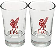 Official Liverpool FC Shot Glasses - Set of Two!