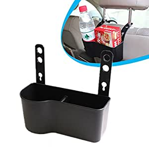 Geekercity Car Backseat Holder Drink Cup Holder French-fries Phone Stowing Tidying Car Organizer Car Accessories