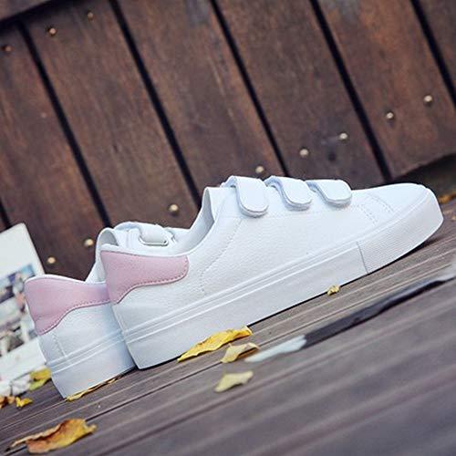 Delle Sneaker Tela Scarpe Donna Da Suole Vulcanizzate Alluncinetto