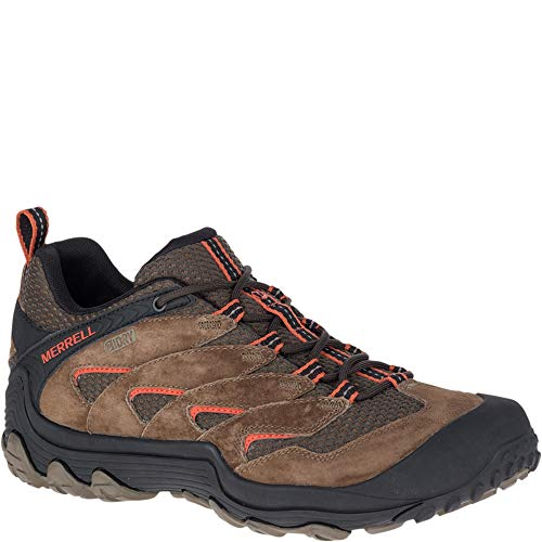 Merrell Men's Chameleon 7 Limit Waterproof Hiking Boot, Stone, 11 Medium US