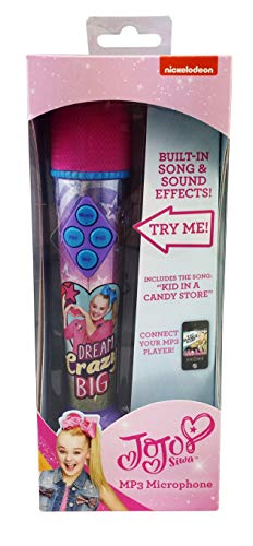 eKids JoJo Siwa Sing Along MP3 Microphone with Built in Sound Effects Can Connect to Your MP3 Player and Sing to Whatever You Like by eKids (Image #4)