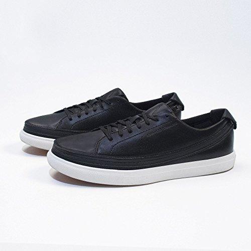 ACBC Scarpa Sneakers Urban Suola Bianca e Scarpa Nero con Zip