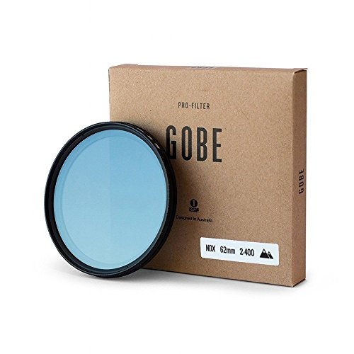Gobe NDX 62mm Variable Neutral Density Lens Filter by Gobe