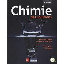 Chimie des solutions, 4e édition