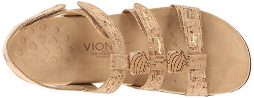 44 Amber Rest Dorado Womens Vionic Synthetic Sandals 4qwUU0