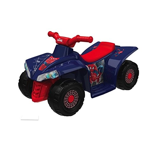 Give Your Little Superhero His Very Own Set Of Wheels With This 6V Little Quad Ride-on