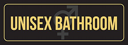 iCandy Combat Señal de Pared Unisex para Baño, Oficina, Negocios, Exterior e Interior, de Metal, 7,6 x 22,8 cm, Color Negro...