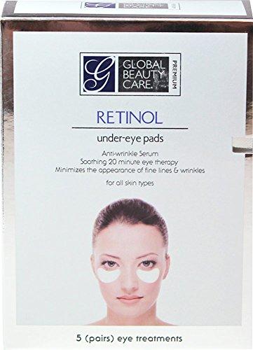 Soins de beauté globale Premium rétinol sous l'oeil paire plaquettes-5 boîte