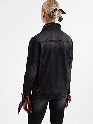 Bandit Trucker Jacket in Noir Bloomed