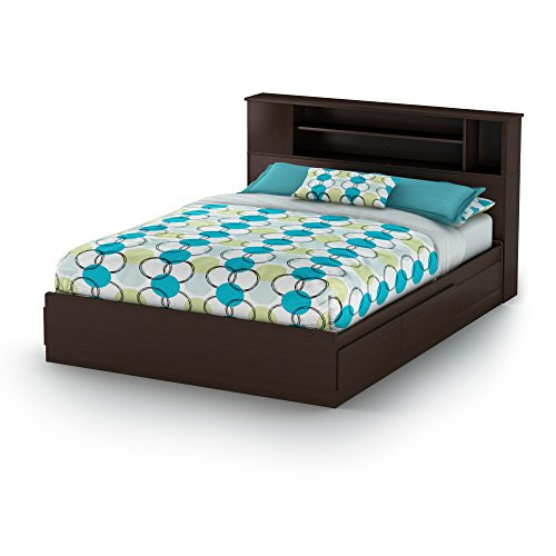 South Shore Furniture 60'' Fusion Mates Bed, Queen,