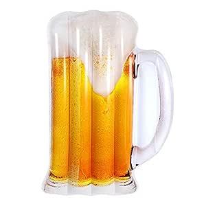 Ardentity - Flotador Hinchable para Piscina, jarrón de Cerveza ...