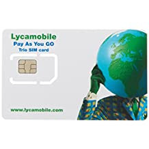 Prepaid SIM card USA - 1GB 4G LTE - Unlimited Nationwide Talk, Text & Data - 30 Days