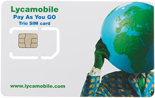 Prepaid Tarjeta SIM (Telefonía y 1000 MB High Speed Datos ...