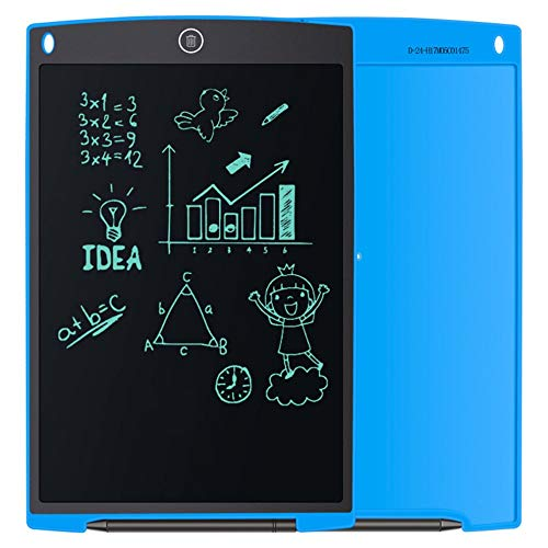 E.I.H. Electronic Writing Pad 12-Inch Portable LCD Handwriting Board Kids Scrawl Drawing Tablet Notepad Electronic Writing Pad for Home Office