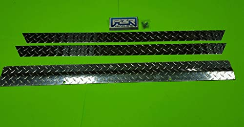 panel for Club Car Golf Cart DS 82-Up Diamond Plate alum. ()