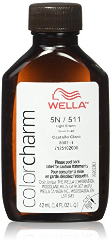 Charm Color Liquid (Wella Charm Liquid Permanent Hair Color, 511/5n Light Brown)