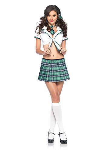 Miss Prep School Costume - Medium/Large - Dress Size 8-12