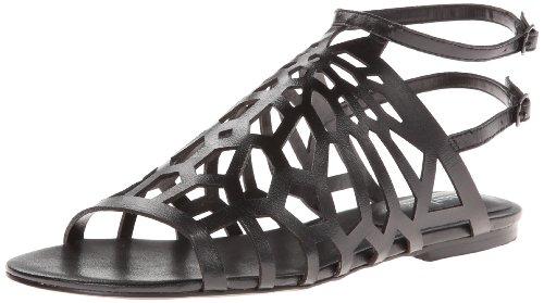 Charles by Charles David Women's Nancy Gladiator Sandal,Black,8.5 M US