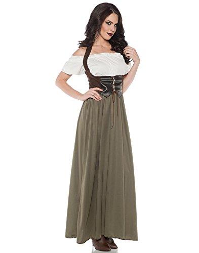 Women's Classic Renaissance Tavern Bar Maid Costume -