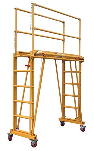 Telpro Inc 1101 Tele Scaffold Tower Yellow
