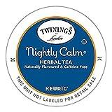 Twinings Nightly Calm Herbal Tea Keurig K-Cups, 24 Count
