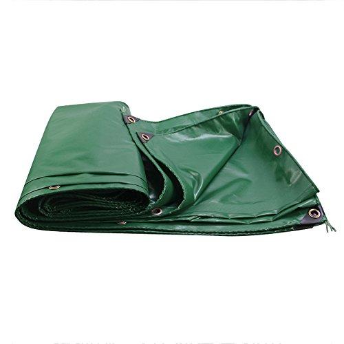 ZR- PVC Rain Cloth Sun Protection Tarpaulin Waterproof Canopy Truck Canvas Waterproof Rain Cloth Plastic Cloth Linoleum 450g\㎡ (thickness 0.45MM) (Size : Green-34m)