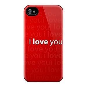 popular case Perfect Tpu Case For iphone 6 plus 5.5 Anti-scratch Protector Case (love You)