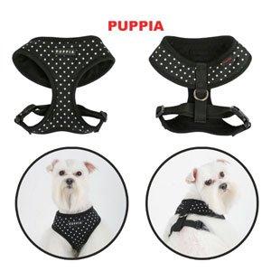 Puppia Dog Harness Dotty Pink Small, My Pet Supplies