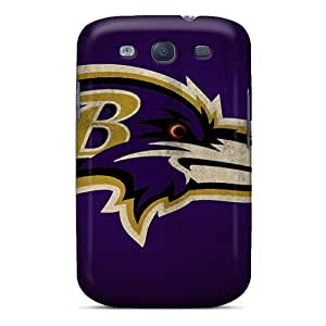 Best Cell-phone Hard Covers For Samsung Galaxy S3 With Allow Personal Design Colorful Baltimore Ravens Series KennethKaczmarek