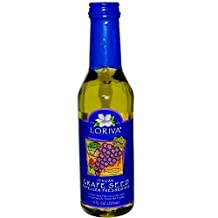 Loriva Canadian Oil, Grapeseed, 8 Ounce by Loriva