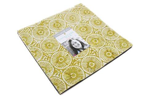 Moda Fabric Batik - Longitude Batiks Layer Cake 42 10-inch Squares by Kate Spain for Moda Fabrics, 27259LC