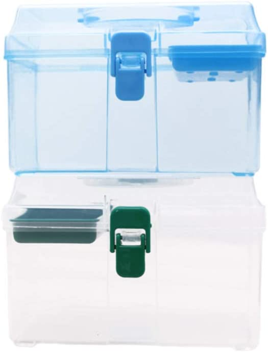 SUPVOX First Aid Box Empty Non Toxic for School Office Home Hotel 1pc