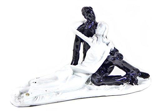 Goodbye My Love - Wedding Couple Embracing Statue Figurine