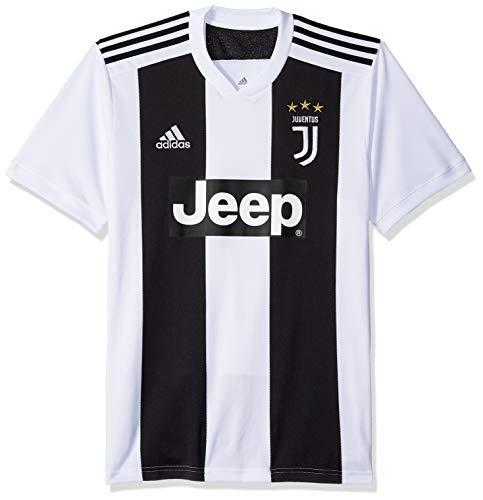 adidas World Cup Soccer Juventus Soccer Juventus FC Home Jersey, Large, Black