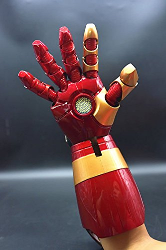 1/1 LED Armor Right Hand For Iron Man MK XLII 42 Cosplay Ver.New (Iron Man Cosplay Armor)
