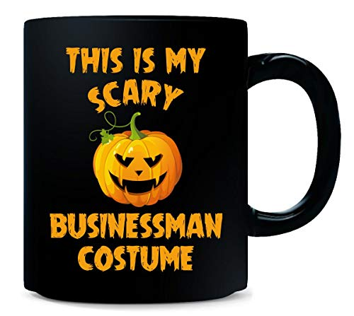 This Is My Scary Businessman Costume Halloween Gift - -