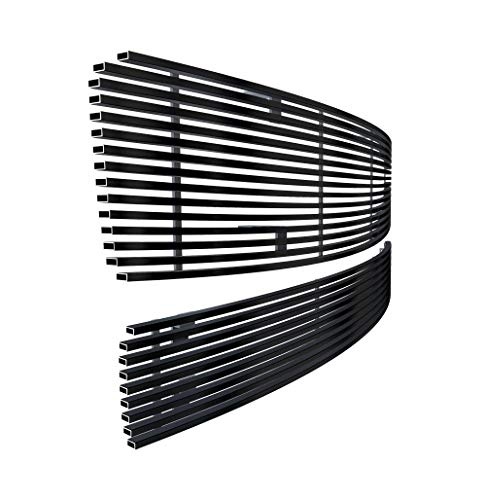 Off Roader eGrille Stainless Steel Black Billet Grille Combo Fits 2009-2014 Nissan Maxima