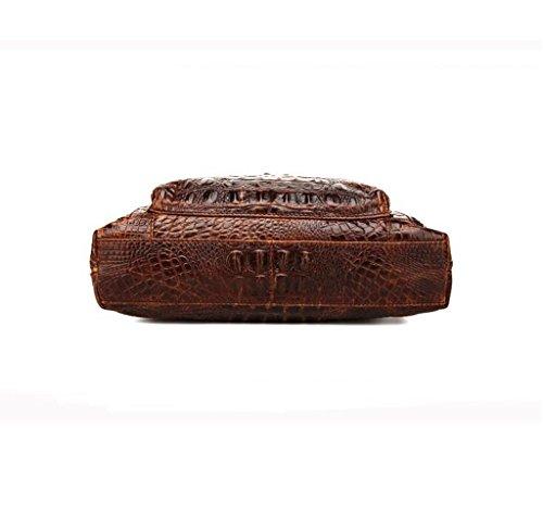 Piel Hombre de Autentico Bolso Hombro 1 29x5x30cm y Pecho Pequeña Bolsos Sucastle Bolsa Bandolera Cuero Mochila Bolsos de Resistentes qtF5q0wx