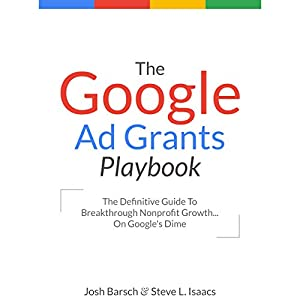 amazon com the google ad grants playbook the definitive guide to rh amazon com Grant Money Available Google Grants Information Sheet