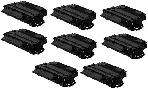 NO. 55XJ CE255XJ/_8PK SuppliesMAX Compatible Replacement for HP Laserjet Enterprise P3010//P3015//P3015D//P3015DN//P3015N//P3015X//P3016//M521DN//M525DN Jumbo Toner Cartridge 8//PK-15000 Page Yield