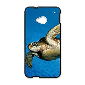 Sea turtle HTC One M7 Cell Phone Case Black Y7425251