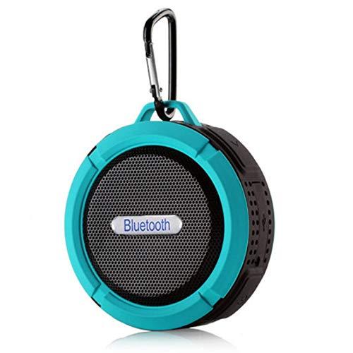 IPX65 Waterproof Bluetooth Speaker, Portable Wireless Outdoor Speaker with Big Suction Cup dustproof, Mini Speakers for…
