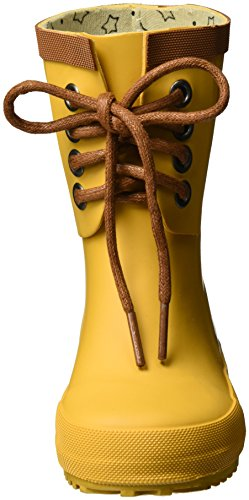 EN FANT Unisex-Kinder Rubber Rain Boot Gummistiefel Gelb (Yellow)