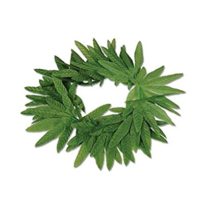 Beistle 57409 Company Tropical Fern Leaf Headband: Kitchen & Dining